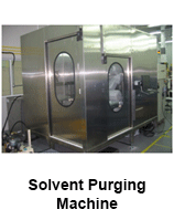 Solvent-Purging-Machine
