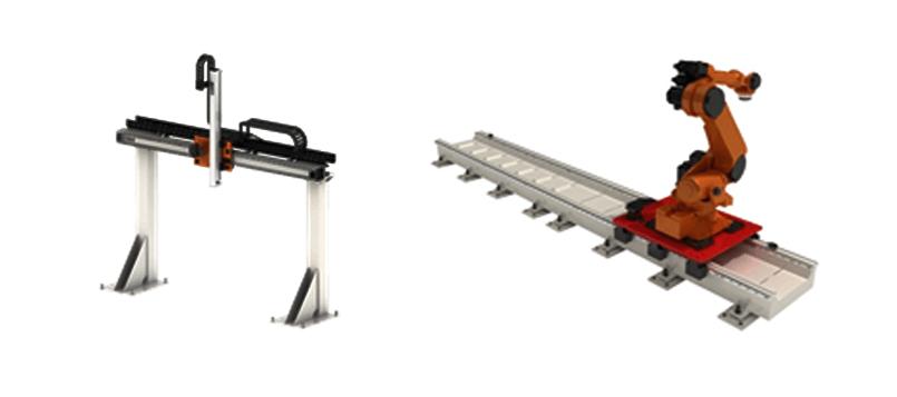 Gantry dan Jalur Sistem Gerak