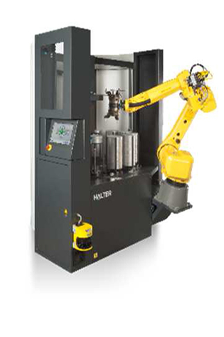 Robotic-Deburring-Machine